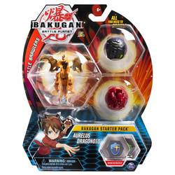 Bakugan Battle Planet starter pack Aurelus Dragonoid