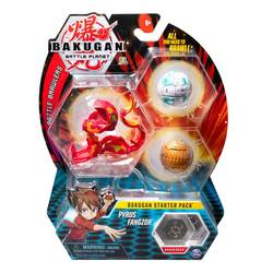 Bakugan Battle Planet starter pack Pyrus Fangzor