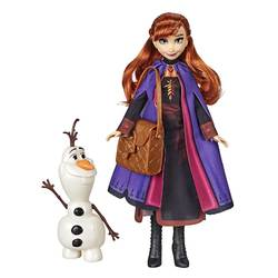 Poupée Anna et Olaf Disney La Reine des Neiges 2