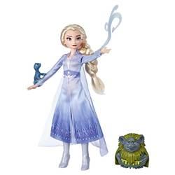 Poupée Elsa Pabbie et Salamandre Disney La Reine des Neiges 2