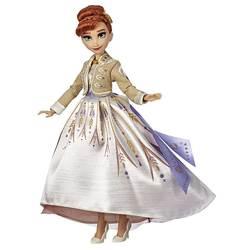 Poupée Anna en robe de soirée - Style Series Disney La Reine des Neiges 2