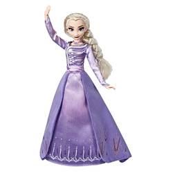 Poupée Elsa en robe de soirée - Style Series Disney La Reine des Neiges 2