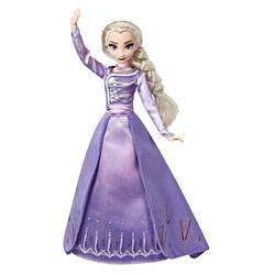 Poupée Elsa en robe de soirée - Style Series La Reine des Neiges 2