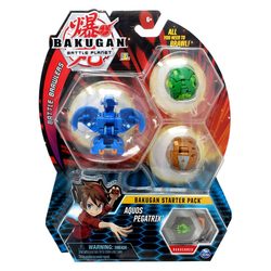 Bakugan Battle Planet starter pack Aquos Pegatrix