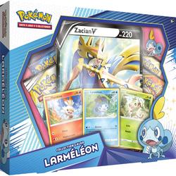 Coffret Pokémon Preview jeu vidéo Épée et Bouclier Larméléon