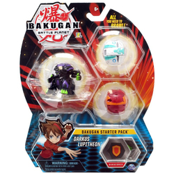 Bakugan Battle Planet - Starter pack Darkus Lupitheon