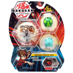 Bakugan Battle Planet - Starter pack Aurelus Hydranoid