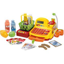 Caisse de supermarché avec accessoires