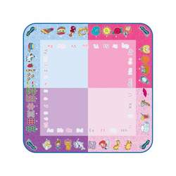 Tapis Aquadoodle rose