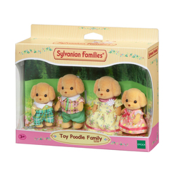 Sylvanian Families-Famille Caniche