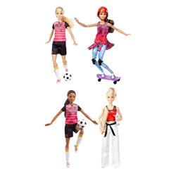 Poupée Barbie sport