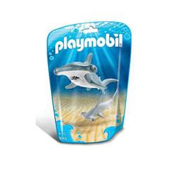 9065 - Requin marteau et son petit - Playmobil Family fun