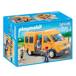 6866-Playmobil City Life-Bus scolaire