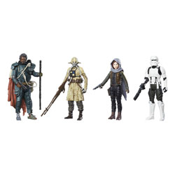 4 figurines Star Wars Rogue One 10 cm
