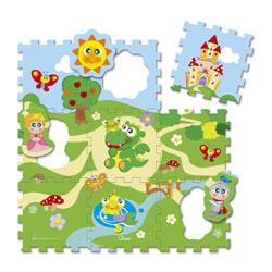 Tapis Puzzle Château