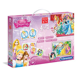 Edukit 4 en 1 Disney Princesses