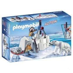 9056- Explorateurs avec ours polaires Playmobil