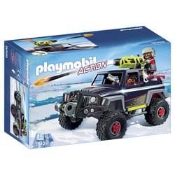 9059-Véhicule avec pirates des glaces Playmobil