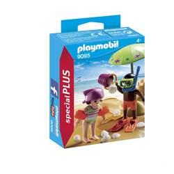 9085 - Enfants et châteaux de sable Playmobil Family Fun