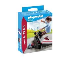 9094 - Figurine skateur avec rampe Playmobil