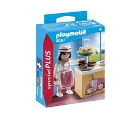 9097 - Pâtissière avec gâteaux Playmobil City Life