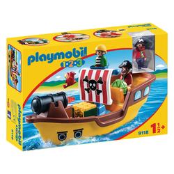 9118 - Bateau de pirates Playmobil 1.2.3