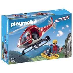 9127-Secouristes avec hélicoptère