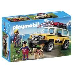 9128 - Secouristes avec véhicule Playmobil Action