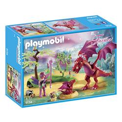 9134-Gardienne des fées avec dragons Playmobil Fairies