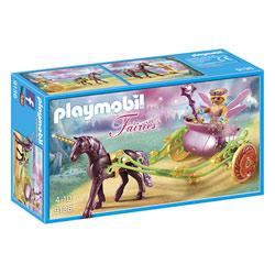 9136 - Fée avec carrosse et licorne Playmobil Fairies