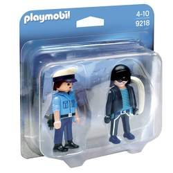 9218-Duo Policier et voleur-Playmobil