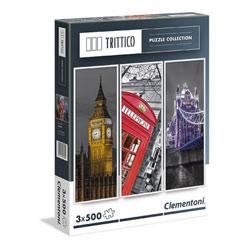 Puzzles triptyques 3 x 500 pièces Londres