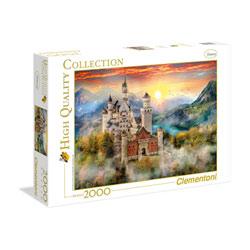Puzzle de 2000 pièces château de Neuschwastein