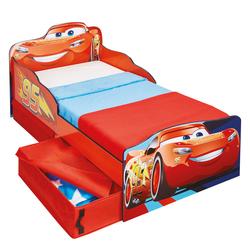 Lit enfant avec rangements Flash Mc Queen Cars
