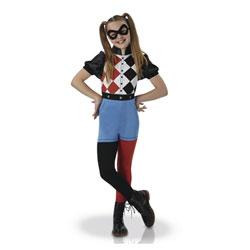 Déguisement classique Harley Quinn 3/4 ans
