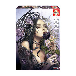 Puzzle 1000 pièces Alchemy The Midnight Rose