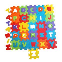 Lot dalles mousse alphabet et chiffres