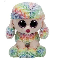 Beanie Boo's - Peluche Rainbow le caniche 23 cm