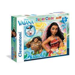 Maxi puzzle color 24 pièces - Vaiana - Disney Princesses