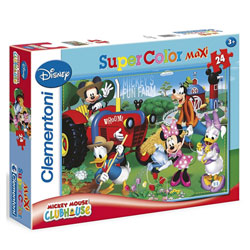 Puzzle 24 pièces Mickey Club House