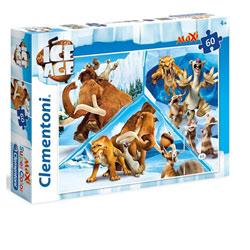 Puzzle 60 pièces L'Age de Glace
