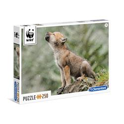 Puzzle 250 pièces Loup