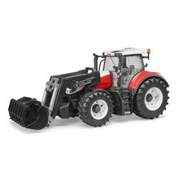 Tracteur Steyr 6300 terrus cvt avec Fourche