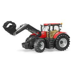 Tracteur Case IH Optum 300 cvx avec fourche