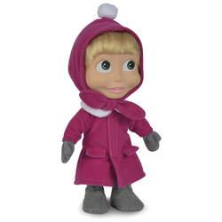 Masha et michka - poupée au corps souple - poupée hiver - 23 cm