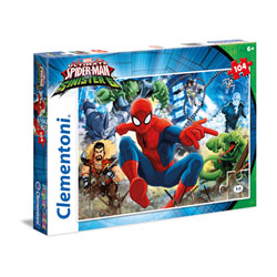 Puzzle Spiderman Sinister 6 104 pièces