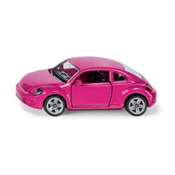 Voiture miniature Volkswagen New Beetle rose