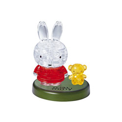 Crystal Puzzle-Lapin Miffy et son ours