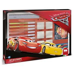 Coffret 7 tampons Cars 3