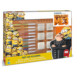 Coffret 7 tampons Minions